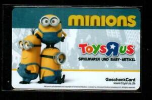 Toys R Us Germany Minions Collectible 2015 Gift Card 0 Ebay