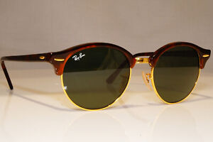 RAY-BAN-Mens-Womens-Unisex-Sunglasses-Brown-Round-CLUBROUND-RB-4246-990-22905
