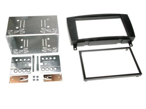 für Mercedes CLK A209 Facelift Auto Radio Blende Einbau Rahmen Doppel-DIN 2-DIN