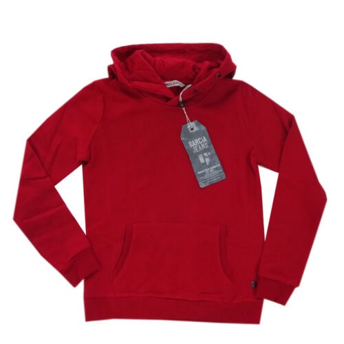 Garcia Sweatshirt Kapuzen-Shirt Pullover rot Mädchen Gr.128//134,140//146,152//158