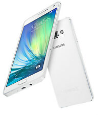 Used Indian Samsung Galaxy A5 2015 Dual Sim 16GB 4G VoLTE Jio White Smartphone