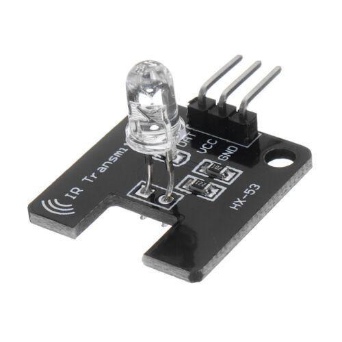 10Pcs  Electronic Block Infrared Emission Module IR Transmitter Infrared Sensor