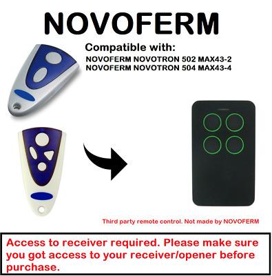 T/él/écommande NOVOFERM NOVOTRON 504 MAX43-4