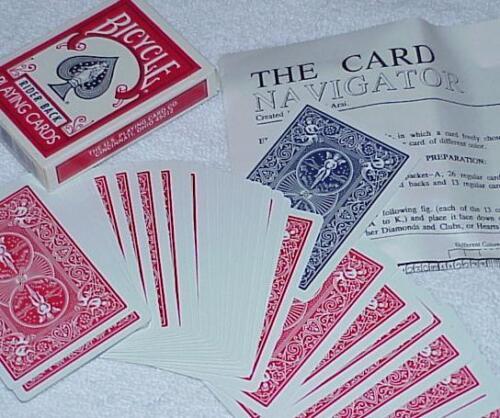 Tricks Co Ltd Card Navigator super clean miracle      TMGS -- Bicycle poker
