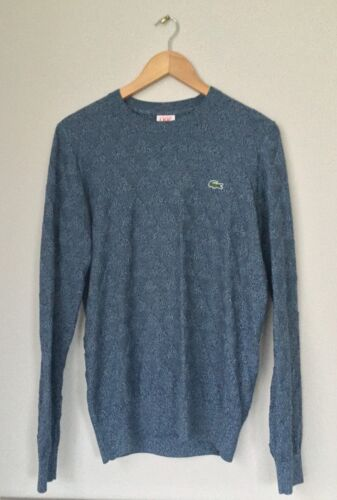 Size 3 £ 185 Rrp Jumper Knit Lacoste Triangle Y70qH1