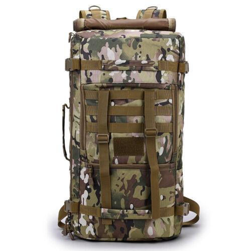 Neu Groß Kampfrucksack Army Rucksack Backpack Militär Bag 50 liter Sporttasche