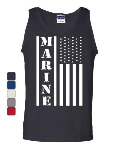 Marine Flag Military Women/'s T-Shirt Patriot Stars /& Stripes POW MIA Shirt