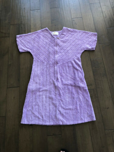 Deadstock Vintage Stan Herman Chenille Housedress