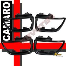 2010-2013 Chevy Camaro LT LS SS Tail Light Bezel Covers Glossy Black Paintable