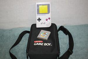 ORIGINAL Nintendo Game Boy  DMG-01 WITH SUPER MARIO LAND 2 & CASE