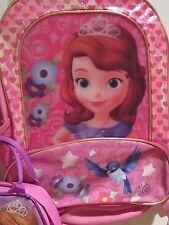 8802d9ec695 item 2 Princess Sofia Backpack Large School Book Bag 16