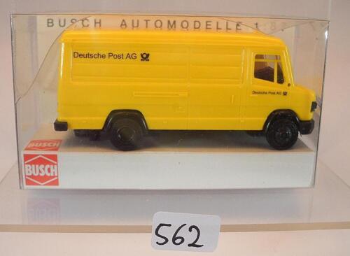 44348 Mercedes Benz 507 D Kasten Deutsche Post AG OVP #562 Busch 1//87 Nr