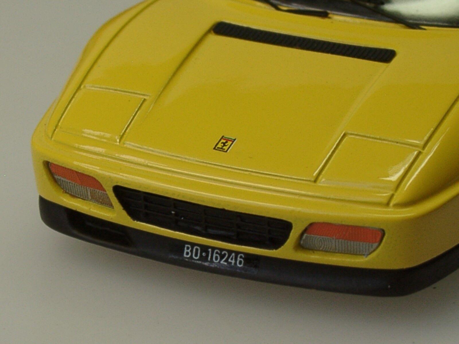 Century Ferrari 348 GTB, 1990, jaune - 1901 - 1:43, 1:43, 1:43, vieux, mais content 21033f