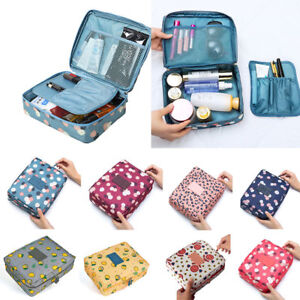 23c35c97325e Image is loading Travel-Cosmetic-Makeup-Bag-Toiletry-Case-Hanging-Pouch-