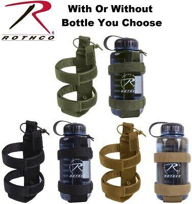 Black Lightweight Tactical Molle Bottle Carrier Or Bottle /& Carrier 2110-2113