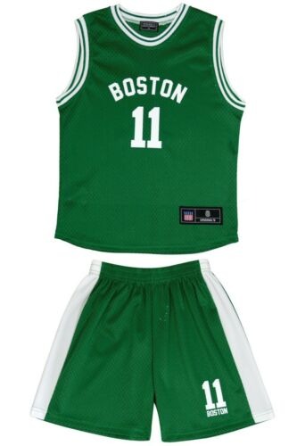 Kit Short 2020 Maillot de Basket-Ball Enfant Boston