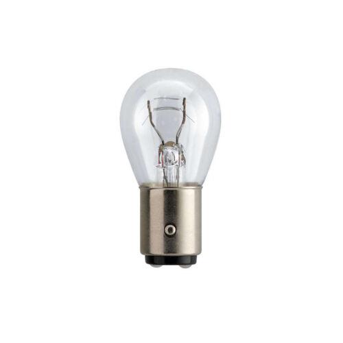 paquete doble de bombillas Philips Vision Plus P21//5W Stop//Luz De La Cola Bombillas Coche