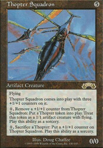 Thopter Squadron ▼▲▼  Escadron de mécanoptères Exode #140 FRENCH  Magic