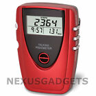 Talking Pedometer Exercise Step Distance Walking Calorie LCD Run Running Jogging