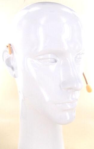 2pcs Tan color Sweat Resistant Headset Mic for Sennheiser Wireless EW 100 G2 G3