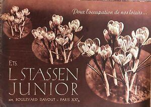 Catalogo Fiori.Catalogo Fiori Semi Orticoltura Ets L Atassen Junior Anno 1937 Ebay