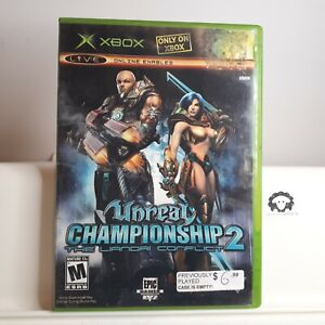 Unreal-Championship-2-The-Liandri-Conflict-Original-Xbox-TESTED