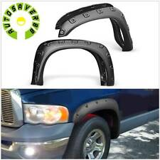 For 02 08 Dodge Ram 1500 03 09 Ram 25003500 Wheel Fender Flares Pocket Style Fits More Than One Vehicle