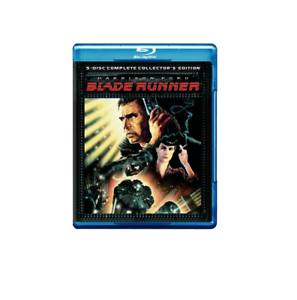 Blade Runner 5 Disc Complete Collectors Edition Bluray, no audio italiano