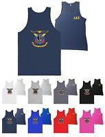 Delta Kappa Epsilon Fraternity Bella + Canvas Tank Top Dke Crest Shirt