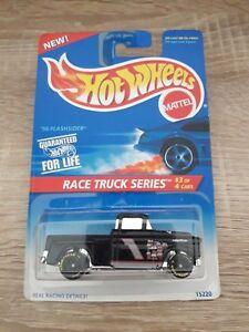 56 Flashsider Race Truck Series Long Card Hot Wheels 1995