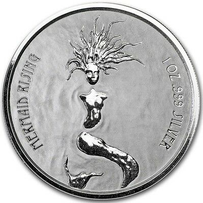 2018 ~ 1~OZ ~ PURE .999 SILVER ~ PEGASUS ~ REVERSE FROSTED PROOF COIN ~ $32.88