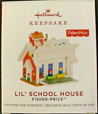 Hallmark Keepsake 2019 Lil' School House Fisher Ornament