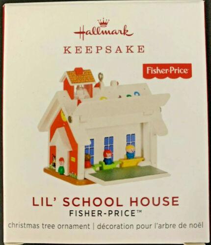 Hallmark  Lil/' School House  Fischer-Price  Miniature  Keepsake Ornament 2019