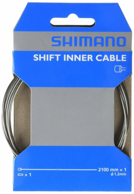 New 2-Pack Shimano SUS Stainless Steel Shift Inner Cable Derailleur 1.2 x 2100mm