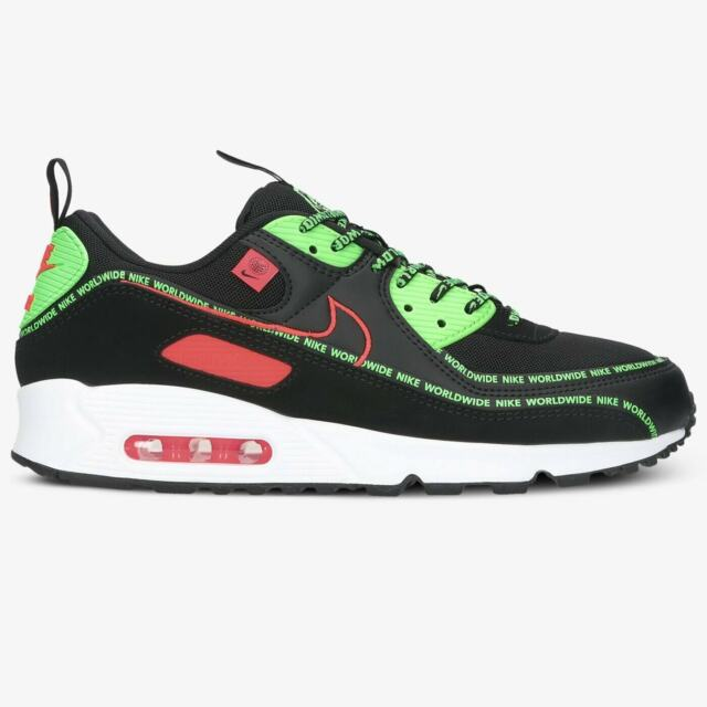 Size 10.5 - Nike Air Max 90 Worldwide Pack Black for sale online ...