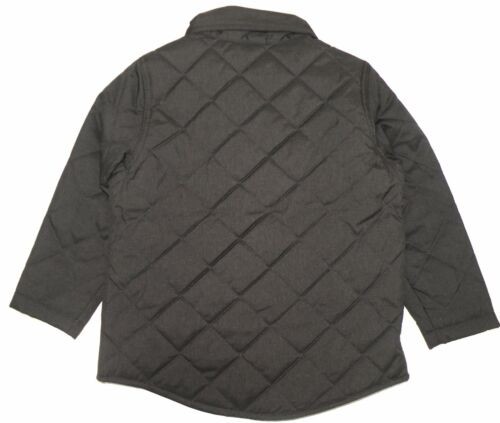 GYMBOREE ALL SPRUCED UP DARK GRAY QUILTED JACKET 4 5 6 10 12 NWT