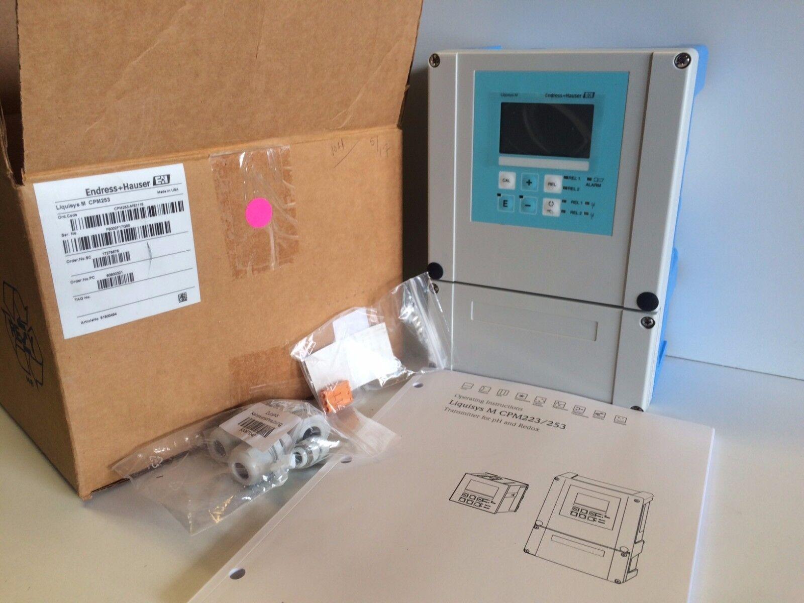 Endress Hauser Liquisys M Cpm253 Ms1115 Ph Controller System Ebay Arc Fault Circuit Breaker Qo120cafic Noninterchangable Norton Secured Powered By Verisign