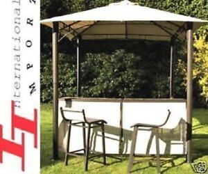 Details about Fer Forgé 999€ BAR Sofa de JARDIN pergola SALON tonnelle  fauteuil chaise table