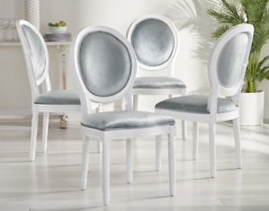 Farmhouse Dining Chairs Set Of 6 Ebay