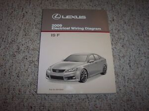 2009 lexus isf is f factory original electrical wiring diagram rh ebay com 94 Lexus Radio Wiring 94 Lexus Radio Wiring