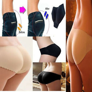50ed3a5b7 Image is loading Women-Shapewear-Buttock-Padded-Underwear-Bum-Butt-Lift-
