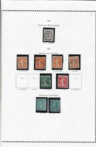 france 1919-26 stamps page ref 19849