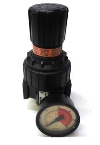 PARKER FILTER REGULATOR 06R1C00021, P=MAX 250 PSI, T=MAX 175 F, W/GAUGE 0-30 PSI