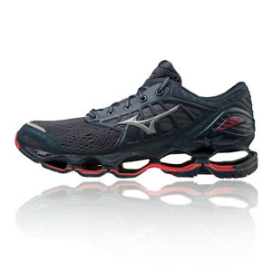 Mizuno Mens Wave Prophecy 9 Running Shoes Trainers Sneakers Black Sports