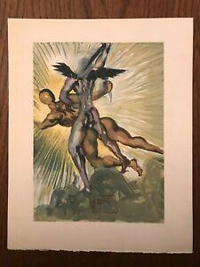 La Divine Comédie - Gravure Salvador Dali - PURGATOIRE