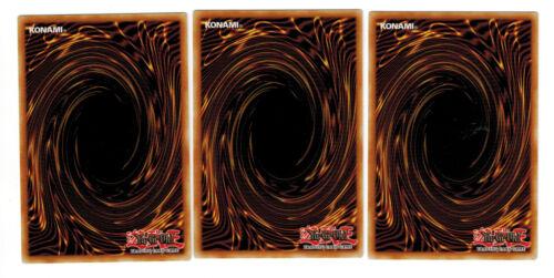 3 X Schwarzes Loch YS17-DE023 Link Strike Common Mint Playset