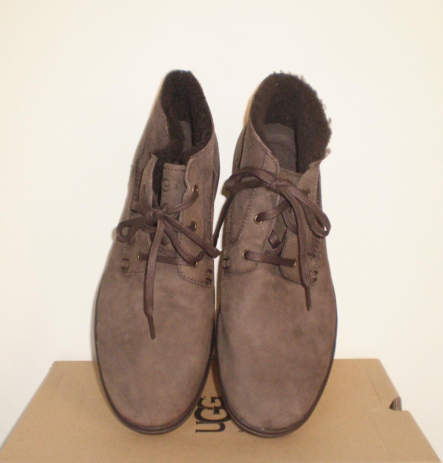 981a8364b71 UGG Australia Kramer Washed Capra Chocolate Brown Chukka 12us NWB Medium (b  M) Brown 12