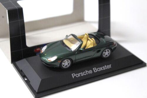 1:43 Dickie Schuco Porsche Boxster green NEW bei PREMIUM-MODELCARS