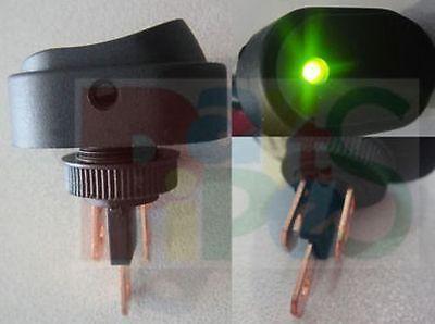 Indicator Pilot Green LED Waterproof 30Amp 12V Car/Boat/Truck Rocker Switch G20D