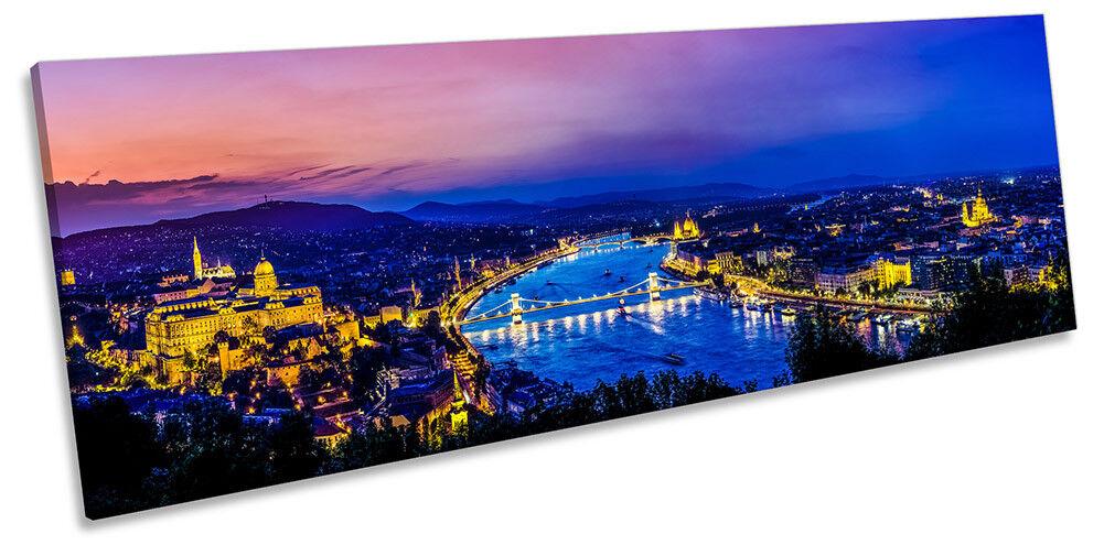 Horizonte de Budapest Hungría panorama de LONA pared pared LONA arte impresión de foto d7ba82